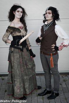 Mrs Lovett & Sweeney Todd - The King and Queen of Fleet Street by TizzyCosplay.deviantart.com