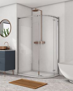 Image Showers. mid range shower doors.  shower doors . Made in Ireland Power Shower, Chrome Handles, Safety Glass, Shower Doors, Polished Chrome, Showers, Ireland, Range, Furniture