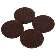 Shepherd Hardware 9425 Self-Adhesive Felt Surface Protection Pads, Assorted Sizes, 46-Count, Brown //Price: $0.57 & FREE Shipping //     #hashtag4