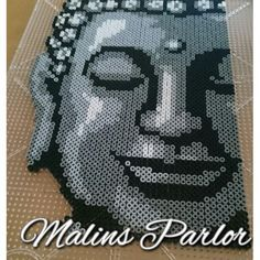 Buddha perler bead art by  malins.parlor