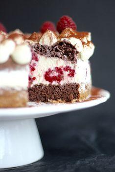 Wenn ihr nicht viel Zeit habt und dringend eine leckere Torte braucht, merkt euch das Rezept! Das ist die schnellste Torte die ich jemals gemacht habe (bis jetzt ungefähr 100 Mal)… und DIESE …