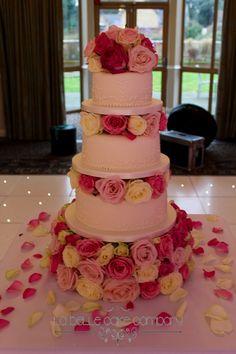 Three Tier Wedding Cake at Shendish Manor