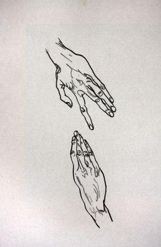 Egon Schiele, Study of Hands. Dessins Egon Schiele, Egon Schiele Drawings, Gustav Klimt, Life Drawing, Figure Drawing, Painting & Drawing, Egon Schiele Zeichnungen, Art Graphique, The Artist