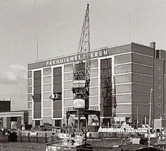 Rijnhaven Pakhuis Meesteren 1965