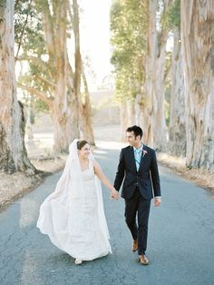Shannon Leahy Events - Carnival Inspired Wedding - San Rafael - Bride and Groom - Portrait - Woods