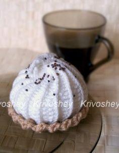 Creative workshop Krivosheeva Natalia. Details - Baskets with cream crochet. Master class