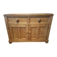 Antique Pine Furniture, White Buffet, Pine Dresser, Pine Cabinets, Storage Cabinets, Cupboard, Lounge, Antiques, Beach