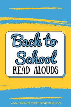 The back to school read alouds we choose are crucial to setting the tone in our classroom for the school year! It's essential to strategically pick books that will benefit our students (mentally, physically, social-emotionally) and set them up for success. Check out these back to school books that highlight rules, emotions, kindness, diversity, community, entertainment and individuality! Dyslexia Activities, Dyslexia Teaching, Teaching Reading, Teaching Tips, Teacher Blogs, Teacher Hacks, Back To School Activities, School Ideas, Elementary Teacher