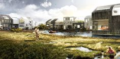 Gallery - Vinge Masterplan Proposal / EFFEKT + Henning Larsen Architects - 4