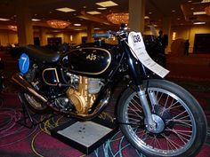 OldMotoDude: 1949 AJS 7R Roadracer sold for $51,750 at Bonmans ...