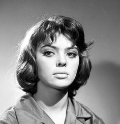 Barbara Kwiatkowska-Lass photographed by Mikołaj Sprudin, 1958.
