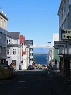 Down The Street, Reykjavik, Iceland, 2009, photograph by Caitlyn Langille.