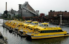 Currently, part of the area is used for parking New York Water taxi boats. Description from brooklynpaper.com. I searched for this on bing.com/images
