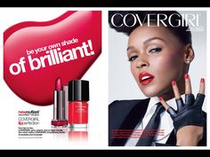 Covergirl Cosmetic Advertising with Janelle Monae