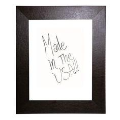 """Rayne Mirrors Wall Mounted Whiteboard Size: 24"""" x 24"""""""