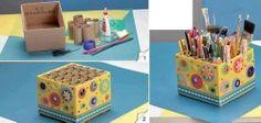 Коробочка для хранения ручек, карандашей и т.д.