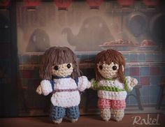 Spirited Away amigurumi Crochet Toys Patterns, Stuffed Toys Patterns, Crochet Dolls, Crotchet, Knit Crochet, Amigurumi Doll, Crochet For Kids, Joy, Ghibli