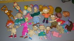 Lot Nickelodeon's Rugrats Dolls figurines & Accessories dog 17 pc | Toys & Hobbies, TV, Movie & Character Toys, Rugrats | eBay!
