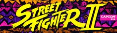 Street Fighter II Arcade Marquee - High Res