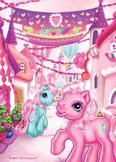 my little pony | Arte My Pequeño Pony | My Little Pony | Ilustración | láminas ...