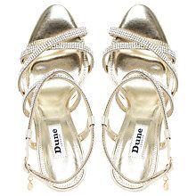dd2a2799da6f91 Buy Dune Mansionn Multi Strap Stiletto Sandals Online at johnlewis.com