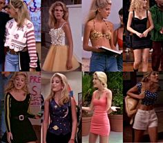 Beverly Hills 90210 The early fashions of Donna Martin (later Donna Martin Silver)