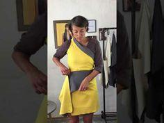 One Shoulder, Shoulder Dress, Wrap, Dress Up, Vest, Dresses For Work, Youtube, Outfits, Style