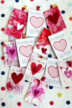My Bubbly Valentine - DIY Candy-Free Valentine (with Free Printable!) >> One Lovely Life