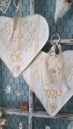 Bride and Groom Chair Signs Hearts Signs Wedding Decor Engagement Party Decorations, Wedding Props, Wedding Decor, Beautiful Hearts, An Affair To Remember, Shaby Chic, Lace Heart, Heart Crafts, Heart Sign