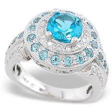 blue topaz jewelry - Google Search