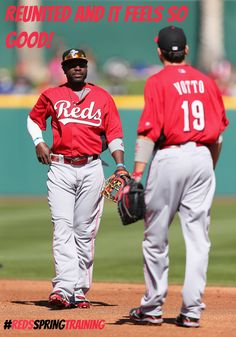 The Phillips & Votto tandem on the right side of the infield is one dynamic duo.