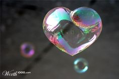 Shared by Find images and videos about heart, bubbles and sweet photo on We Heart It - the app to get lost in what you love. Heart Bubbles, My Bubbles, Blowing Bubbles, Soap Bubbles, Rainbow Bubbles, We Heart It, Happy Heart, Heart Art, Heart Pics