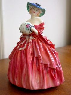 Royal Doulton Pretty Ladies Genevieve Figurine Nice | eBay