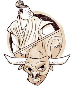 oxherding, picture, mark more, zen, enlightenment, josh bartok, chogyam trungpa rinpoche, buddhism, lion's roar, shambhala sun