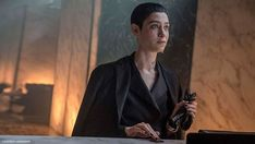 Entertainment : Asia Kate Dillon on meeting Keanu Reeves and her role as a non-binary character in 'John Wick Keanu Reeves, Halle Berry, Robert Downey Jr, Tony Stark, Infinity War, Lawrence Fishburne, Watch John Wick, Asia Kate Dillon, Avengers