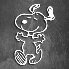 SNOOPY- Vinyl Decal - Multiple colors and sizes including Wall Sizes!!! by OurSignsofAggression on Etsy
