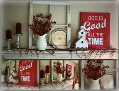 winter decor for when christmas is over