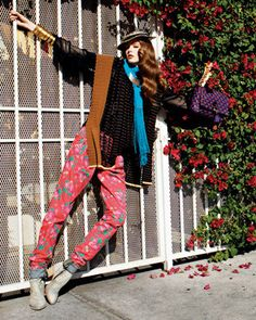 colorful,fashion,bohemian,cute,girl,photography ...320 x 400 | 110.8 KB | weheartit.com