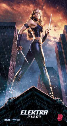 Daredevil Elektra 2003 Movie Poster