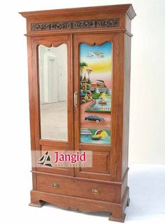 This is Indian Antique Almirah. This type of Almirah is collected from Indian Villages. We are Jodhpur based Manufacturer and Exporter of all type of Indian Furniture such as Antique Furniture, Antique Reproduction Furniture, Painted Furniture, Brass Fitted Furniture, Industrial Furniture, Bone Inlay Furniture, Iron Furniture, Carved Furniture, Modern Furniture, Reclaimed Wood Furniture, Recycled Wood Furniture, Upholstered Furniture, Ceramic Tile and Textile Block Fitted Furniture and so…