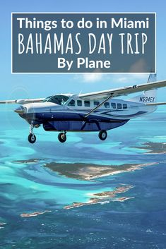 A not to be missed epic adventure: The Miami to Bahamas Day Trip by plane is an amazing Day Tour experience visiting the Swimming Pigs at Staniel Cay Usa Travel Guide, Travel Usa, Travel Tips, Florida Travel, Travel Info, Travel Stuff, Travel Advice, Bahamas Pigs, Exuma Bahamas
