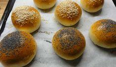 Jak upéct domácí bulky na hamburgery | recept Bread, Food, Brot, Essen, Baking, Meals, Breads, Buns, Yemek