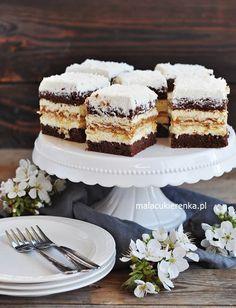Polish Cake Recipe, Polish Recipes, Polish Food, Sweet Bakery, I Foods, Vanilla Cake, Tiramisu, Cake Recipes, Food And Drink