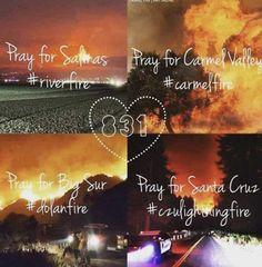 #RiverFire  #CarmelFire  #DolanFire  #CZULightningComplex