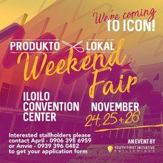 Produkto Lokal Weekend Fair #iloilo