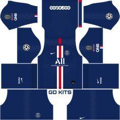 Kits Psg Uefa Champions League 2019 2020 Dls Fts 15 Dream League Soccer 2019 2020 Kits Kits Dream L In 2020 Uefa Champions League Champions League Football Team Kits