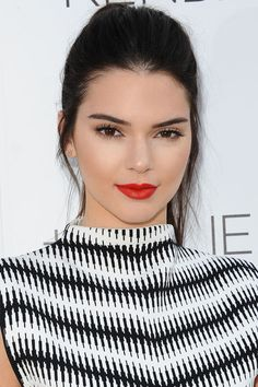 Kendall Jenner puts a youthful spin on old Hollywood glamour. How to recreate the classic beauty look here: