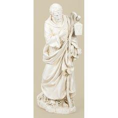 """39"""" Scale White St. Joseph Figure (39"""")"""