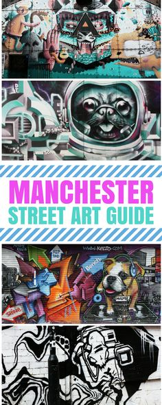 Manchester street art guide. Manchester is one of the best cities to find street art in England. This guide will tell you where you should head to find the most beautiful graffiti, murals and wall paintings.