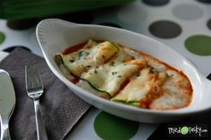 Meatless Cheesy Zucchini Roll-Ups | Tried and TastyTried and Tasty
